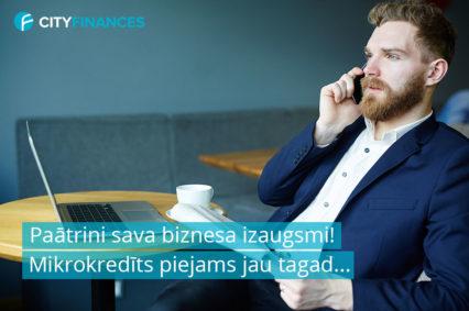mikrokredīts uzņēmumam, kredīti uzņēmumiem, aizdevums biznesam, nauda biznesam