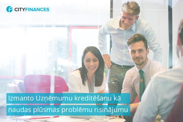 uzņēmumu kreditēšana, uzņēmumu kredīts
